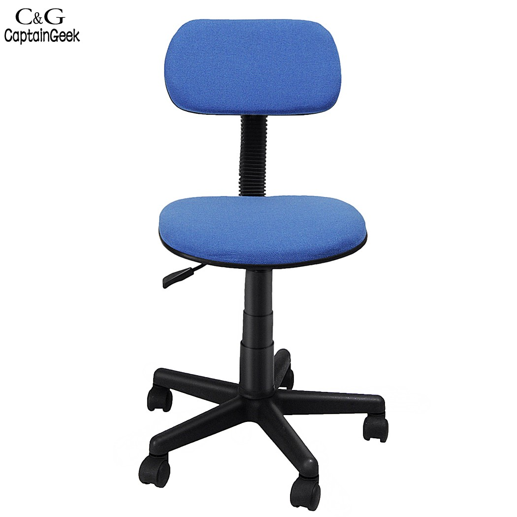 Blue Swivel Chair 2016 New Ergonomic Adjustable Computer Task Office Chair