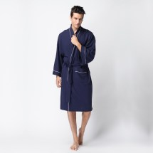 Long Sleeve Cotton Robes for Women