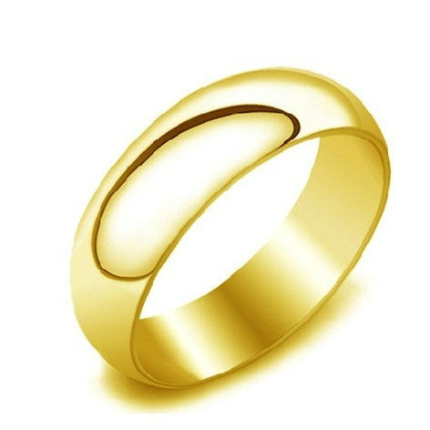 Gallery For > Plain Gold Ring For Men