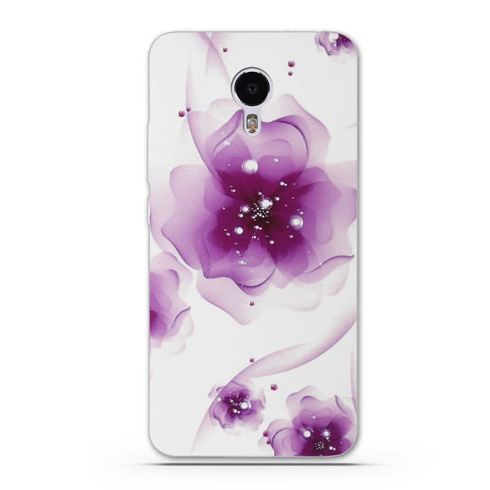 New Floral Painted Back Cover For Meizu M3 Note Blue Charm Note3 Original 3d Relief Superhero Soft Case M3s 5 Inch Aeproductgetsubject