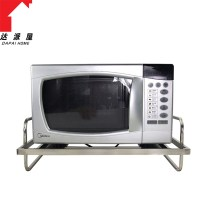 Stainless steel square tube single tier microwave oven ...