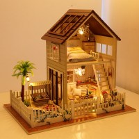 New Arrival Assembling DIY Miniature Model Kit Wooden Doll ...