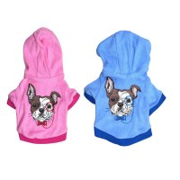Dog Hoodies Small Dog Pet Clothes Cute Cartoon dog Hoodie ...