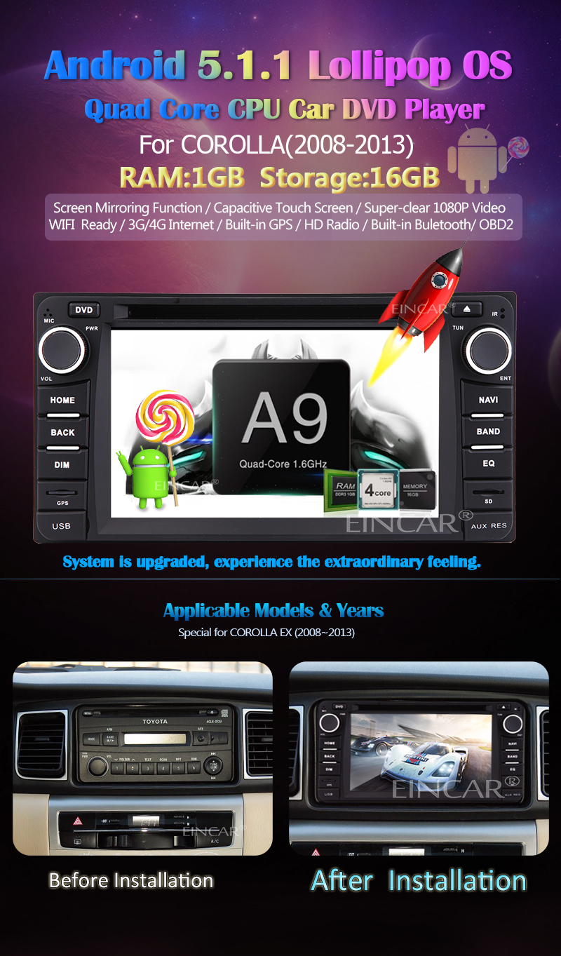 3g 4g Android 51 Car Radio Stereo Multi Touch Screen Double Wire Wiring Harness To Factory For 20052016 Free Dongle Include With Stereoyou Just Need Buy A Wcdma Sim Card Then You Can Enjoy Surf Internetafter Connect Dongleyou Use