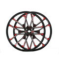 2PC Magnesium Alloy Wheels Bike MTB Ultralight Weight 26 27 5 Bicicletas Wheel 5 Spokes Bicycle
