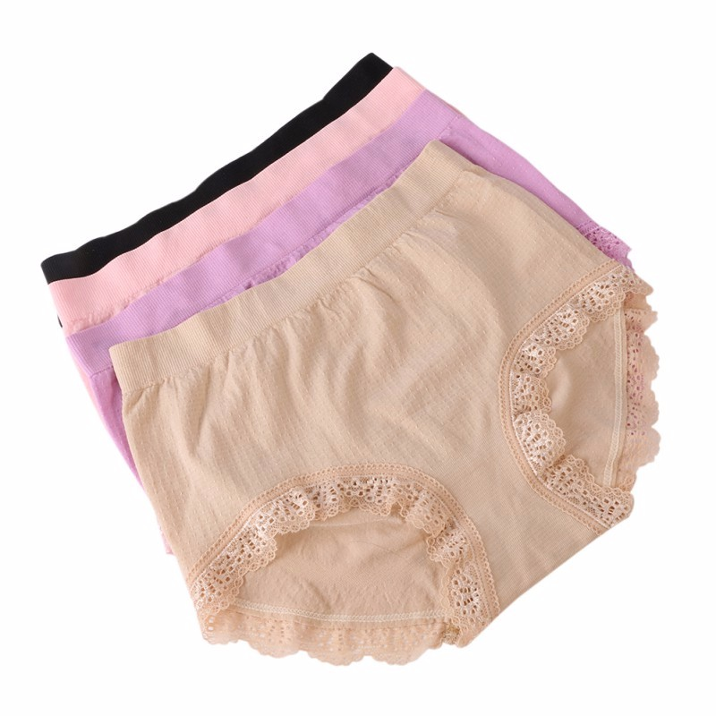 c7fd8add9 Woman Antibiotic Briefs Seamless Shorts Panties Calcinhas Bragas Mid ...