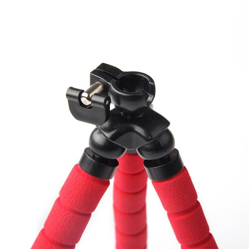 מיני נייד גמיש ספוג תמנון חצובה לעמוד עם הר מחזיק עבור טלפון נייד פעולה מצלמה ומצלמת וידאו