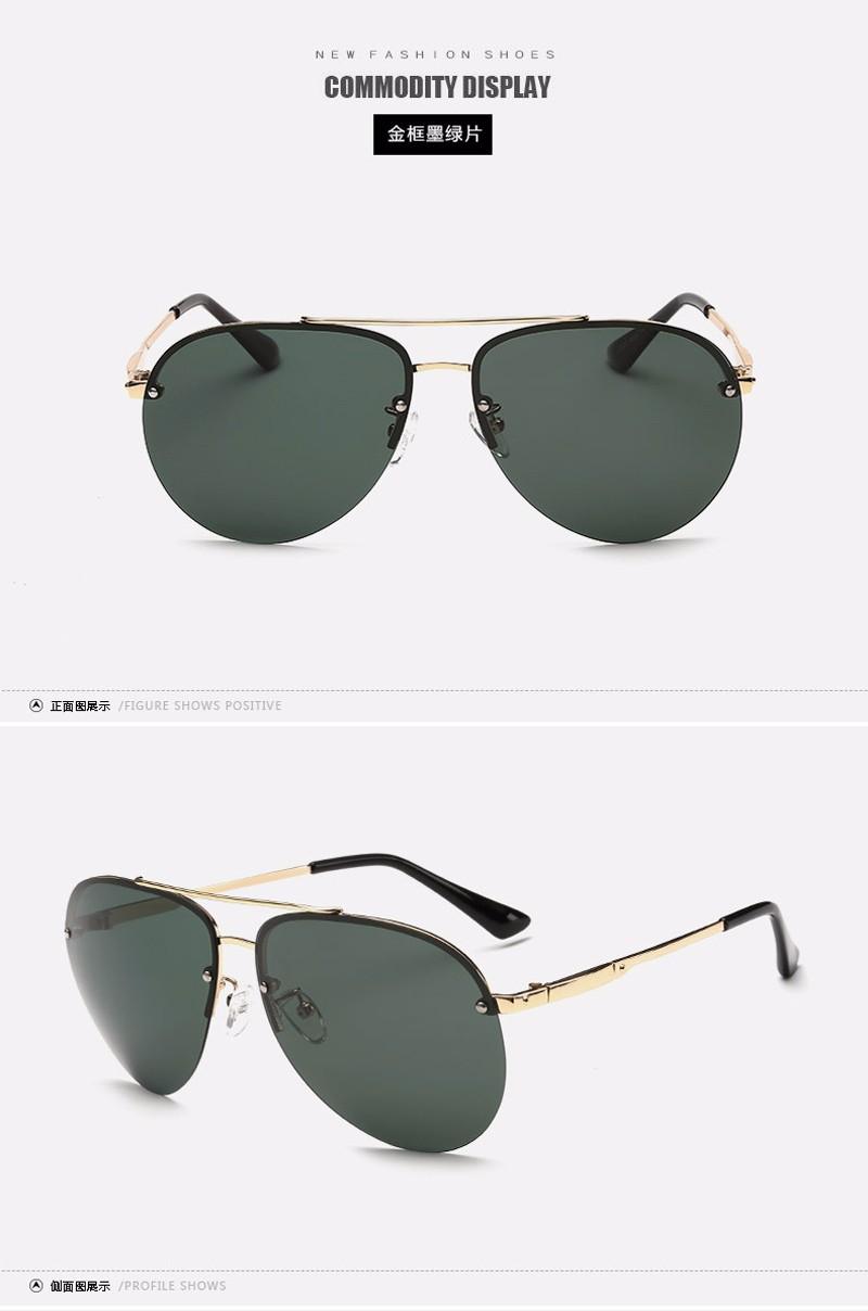 Design da marca de Moda Unissex Óculos de Sol Sem Aro óculos Polarizados  óculos de sol Revestimento de Espelho Óculos de Sol Óculos Masculinos Óculos  Para ... 5348e509cb