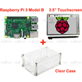 Raspberry Pi 3 Model B Board 3 5 LCD Touch Screen Display with Stylus Acrylic Case