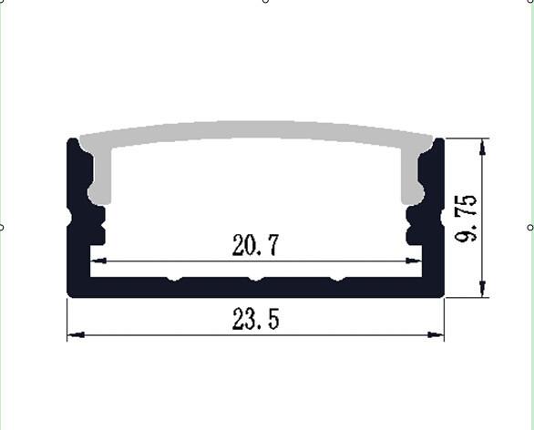 Top qualité mural zew alu moulage sous pression gris ip44 extérieur lampe murale éclairage rectangulaire