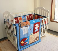 Online Get Cheap Baby Boy Sports Crib Bedding Sets ...