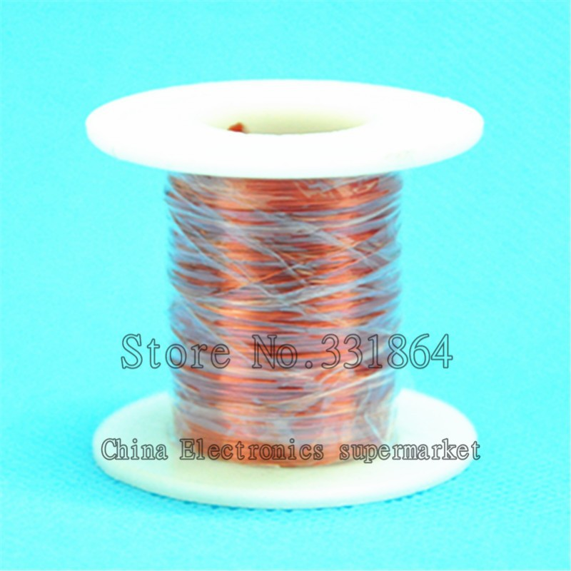 QA-1-155 Magnet Wire 0.5mm Enameled Copper wire Magnetic Coil ...