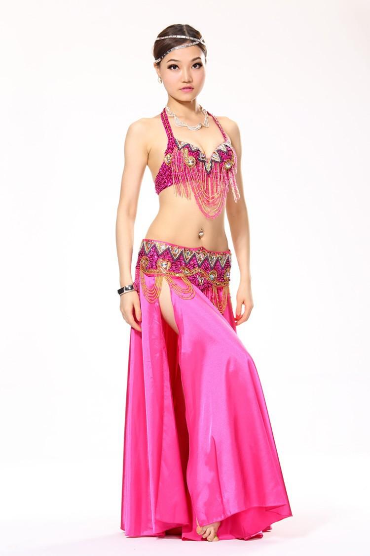 ᗕRendimiento etapa 11 colores danza del vientre traje danza ...
