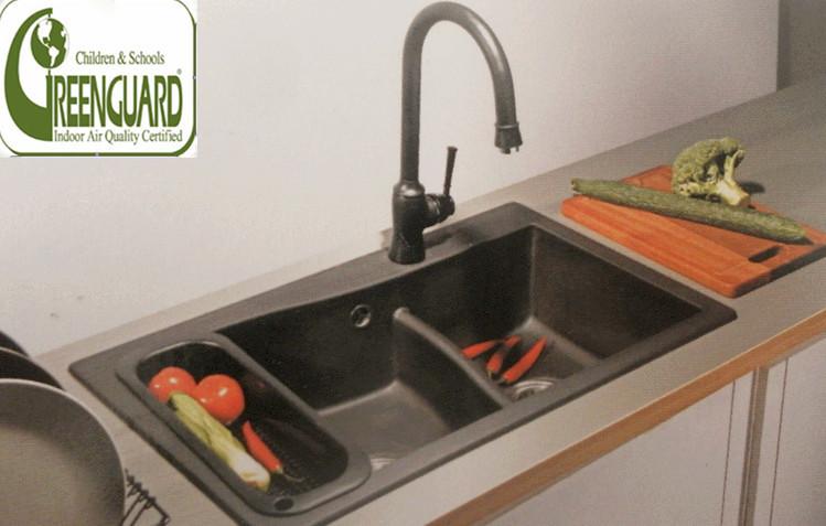 Brushed Stainless Steel Countertops Undermount Kitchen