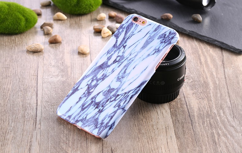 רטרו, וינטג ' אבן השיש דפוס PC Case for iPhone 6 6 4.7 /פלוס 5.5 דק הכיסוי האחורי אביזרים המגונן על iphon 6 s