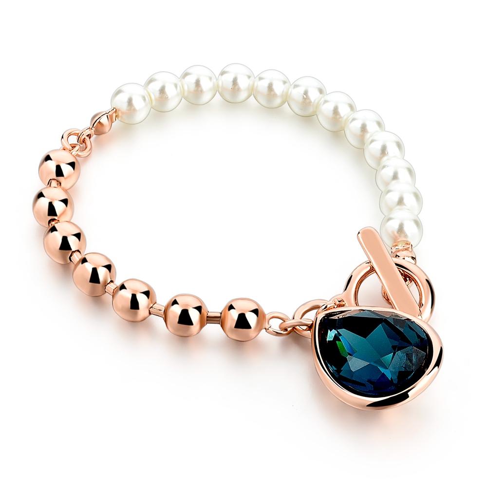 Buy Gold Pearl Beads Strand Bracelets