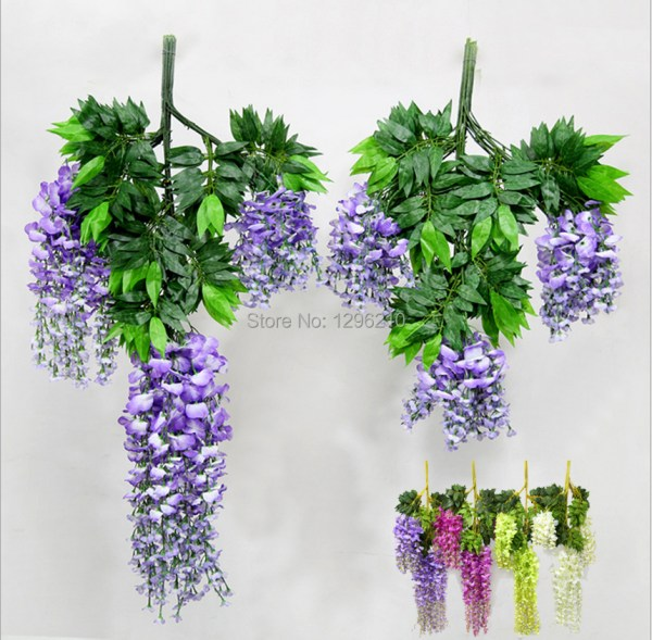 110cm Silk Wisteria Garland Artificial Flower