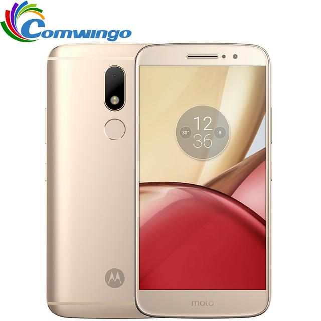 Original Motorola Moto M XT1662 4G RAM 32G ROM Octa core Dual SIM 4G LTE Mobile phone 5.5'' 16.0MP Fingerprint NFC Smartphone