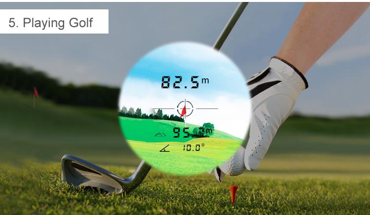Entfernungsmesser Golf Laser Rangefinder Für Jagd Weiss 600 Meter : Entfernungsmesser golf laser rangefinder für jagd weiss meter