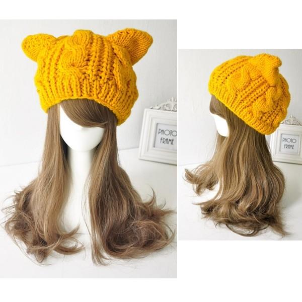 200 piezas! Moda mujeres señora chicas calientes de tejer lana ...