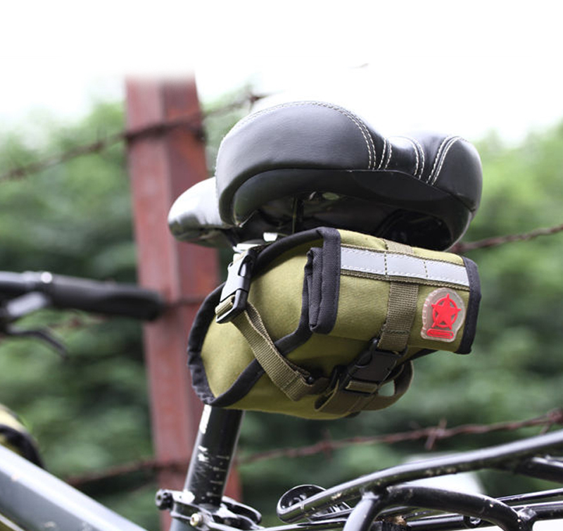 Marrón Sillin ciclismo cuflinks    Bolsa De Organza 8d05c22652bb