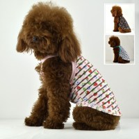 2013 Dog clothes summer Transparent stripe pattern Dog
