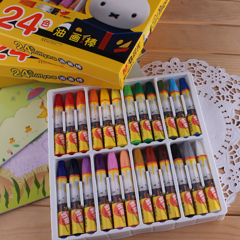 Scola Metallic Wax Crayons for Children Gold Silver Bronze for Children to and