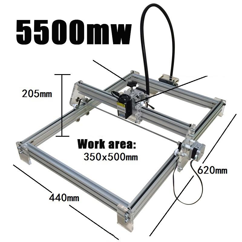 Desktop DIY 5500mW laser engraving machine Desktop DIY