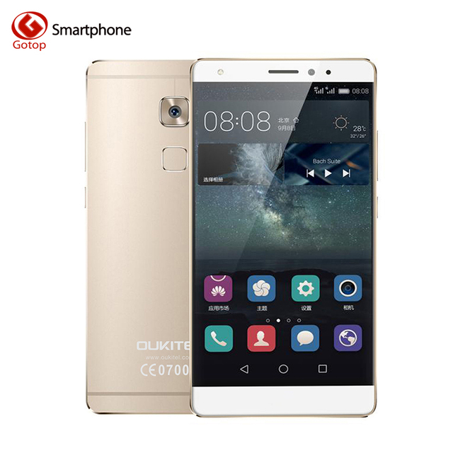 Original Oukitel U13 5.5 Inch Smartphone Android 6.0 MTK6753 Octa Core Mobile Phone 3GB RAM 64GB ROM Fingerprint 4G Cell Phone