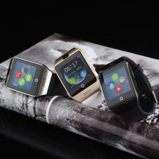 Smart Watch with Curved Shape + 8MB Memory + 1.3MP Camera