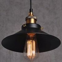 painted Iron Pendant Lighting Vintage Lamp Holder ...