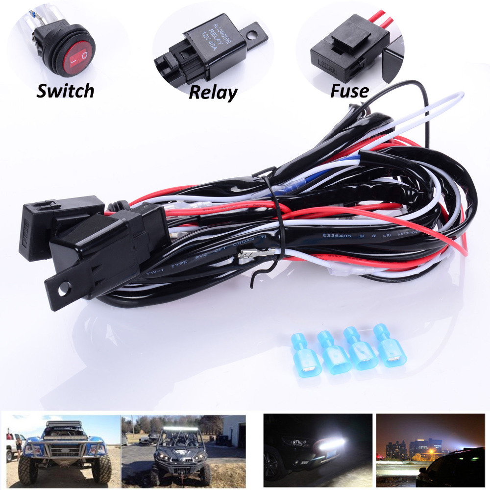medium resolution of off road lights wiring solidfonts led offroad light wiring diagram pirate4x4 com the largest off roading