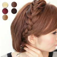 Ponytail Hairpiece Braid Hair Extensions pieces Braids