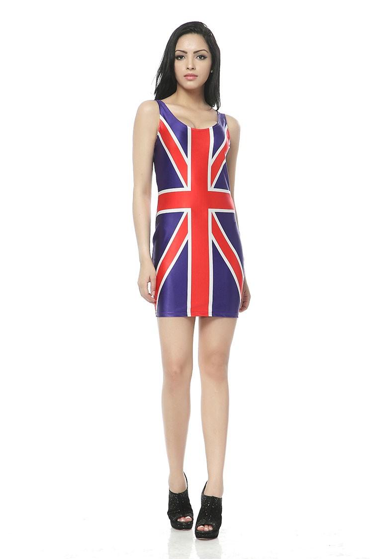 Reino Unido Inglaterra bandera británica chaleco verano playa ...
