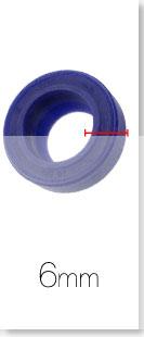 Joint en caoutchouc joint universel 20x2mm Noir Caoutchouc Bande Joints