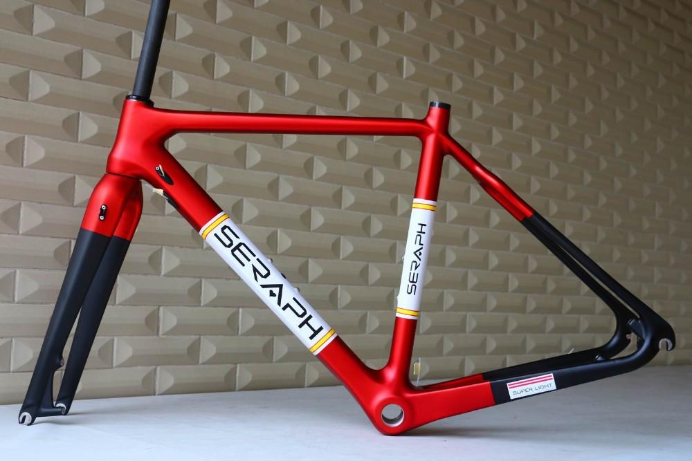OEM produkte Di2 scheibenbremse Carbon Cyclocross Fahrradrahmen ...