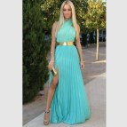 Turquoise Long Summer Dresses