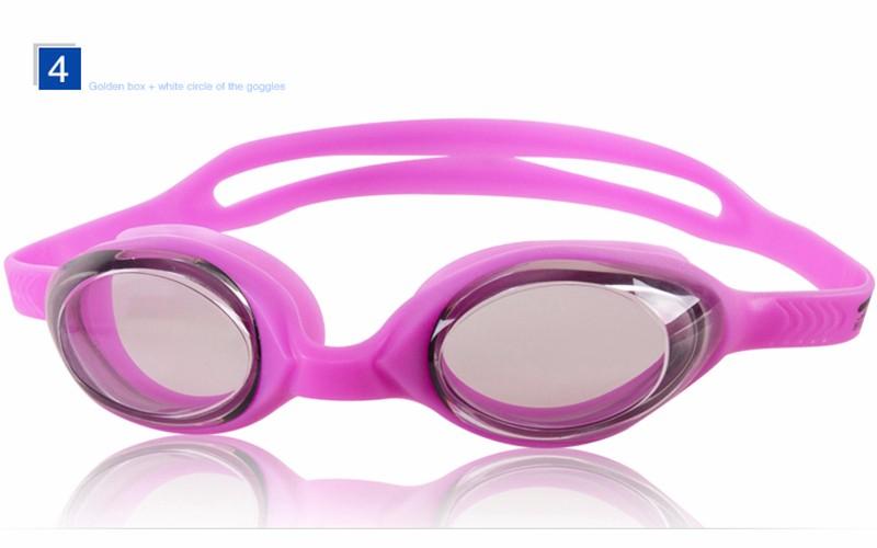 b445b14f679d1 Topo da Classe Profissional Corrida Óculos de Natação Óculos de Proteção  Anti-fog Electroplate HD Lente Anti UV Óculos De Natação Óculos À Prova D   ÁguaUSD ...