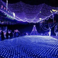 Led Net Lights Large Outdoor Christmas Decorations Garden ...