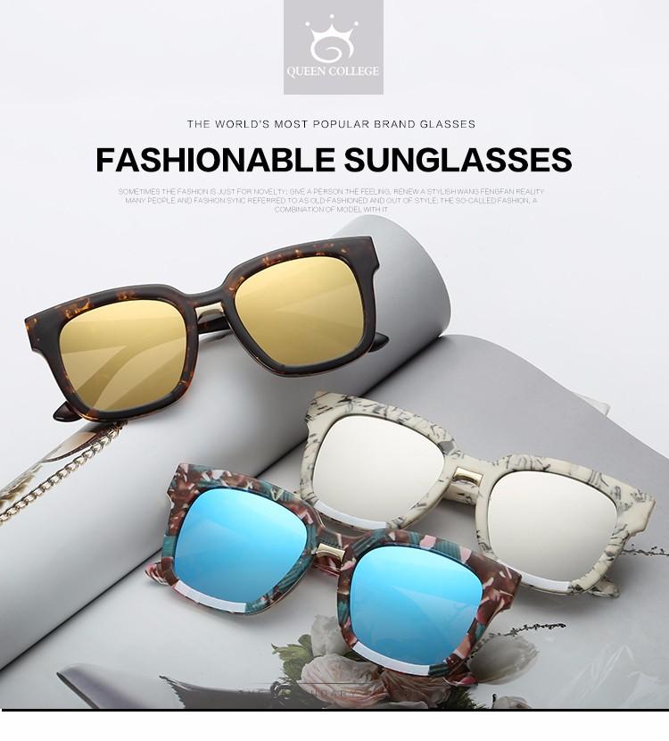 b615c73ab5cff Roza Gafas de sol mujeres acetato Marcos lente de revestimiento plana  Classic retro marca diseñador unisex Sol Gafas UV400 qc0373