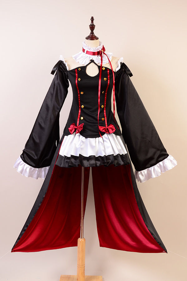 Anime Seraph of the end Krul Tepes Woolen Coat Sweater Hoodies Cosplay Daily