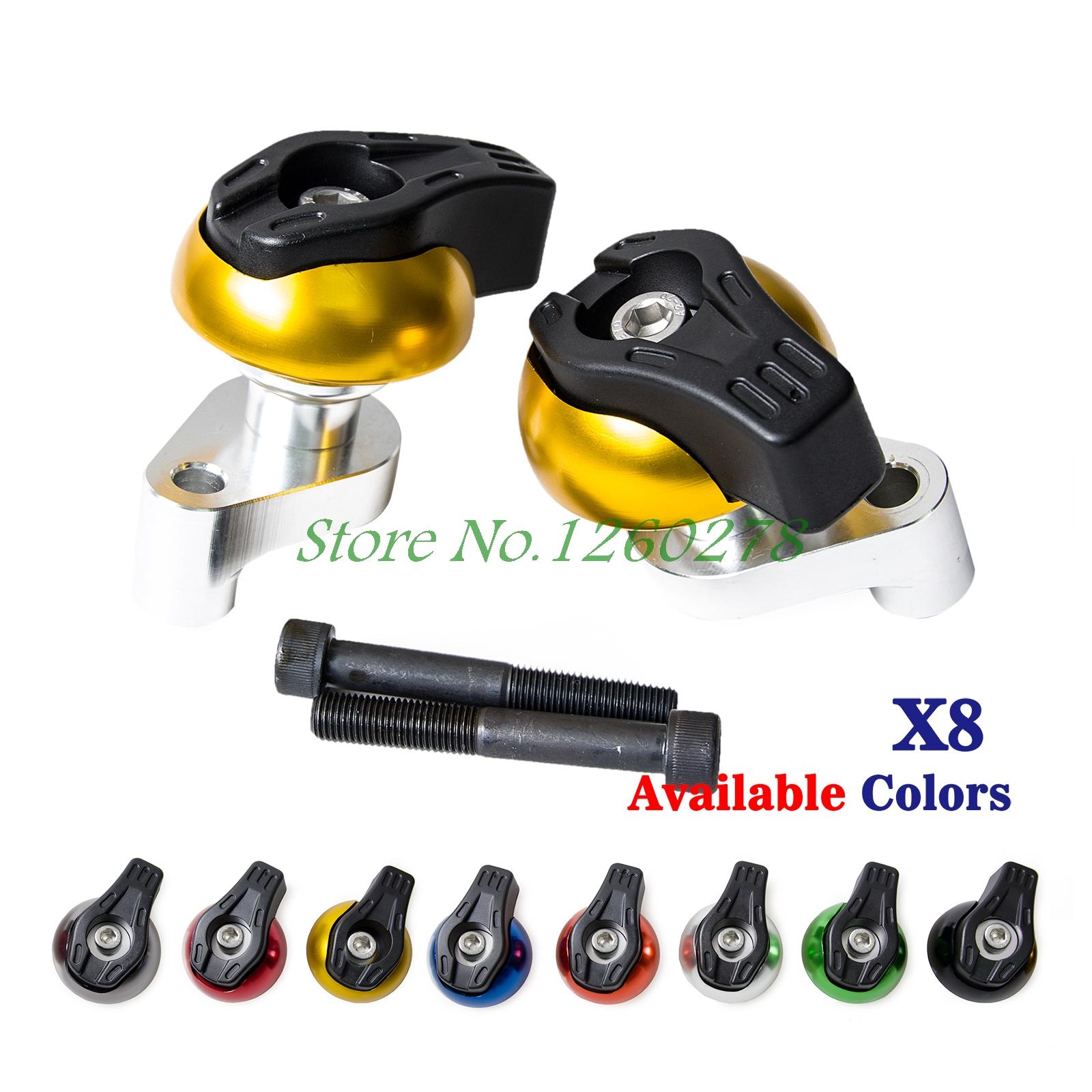 ③Motocicleta CNC Marcos protector para Suzuki gsx-r1000 gsxr1000 K7 ...