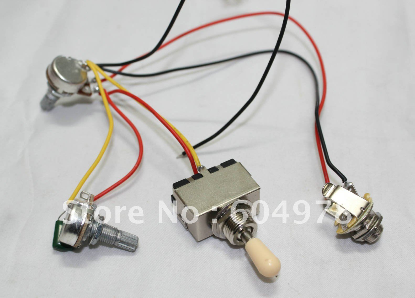 6 wire toggle switch 2003 yukon stereo wiring diagram set of guitar harness 3way 1v1t 500k