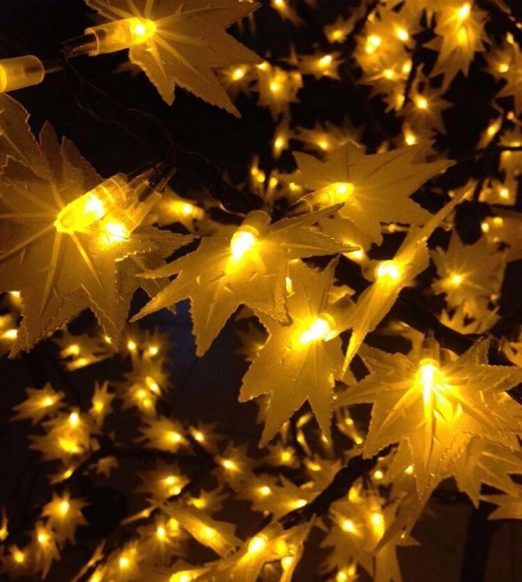 f1dd91f901d Envío libre 1.5 metros de alto 636 LEDs al aire libre árboles de navidad  artificiales LED hoja de arce luces AC110V AC220V AC230V  240 V