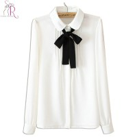 Popular White Tie Front Shirt-Buy Cheap White Tie Front ...