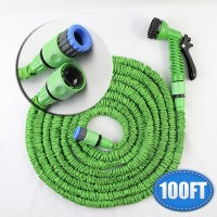 Retractable Garden Hose 100ft Expandable Magic Flexible