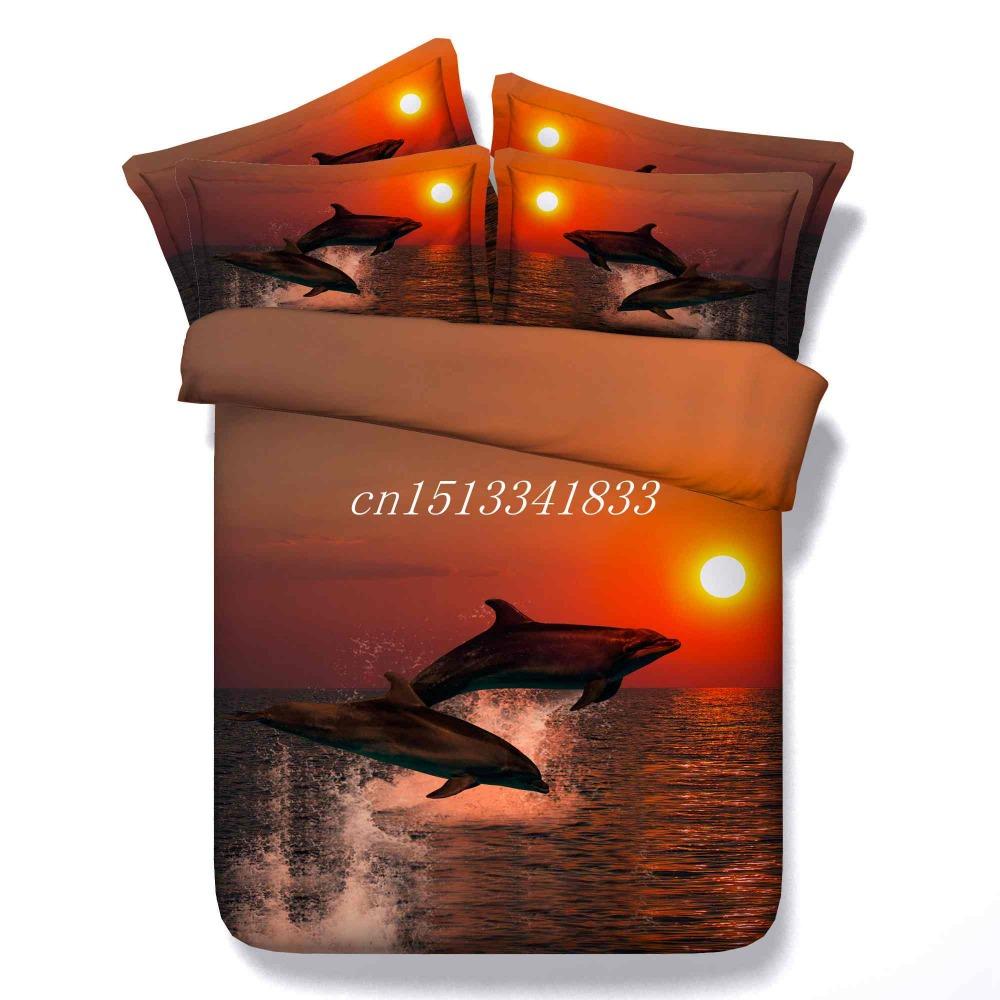 Online kopen Wholesale dolfijn dekbed uit China dolfijn