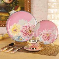 Korean Dinnerware Set Bone China Tableware Dishes And ...