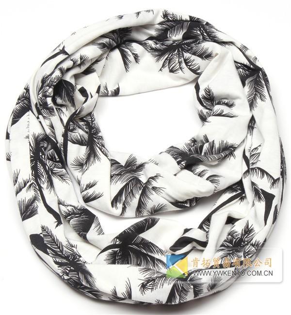 ③Señoras libres del envío bufanda hecha punto del infinito árbol de ...