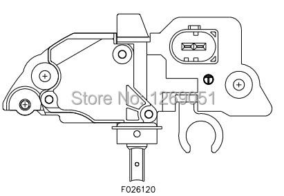 Wholesale! Voltage Regulator Alternator For Bosch IR/IF
